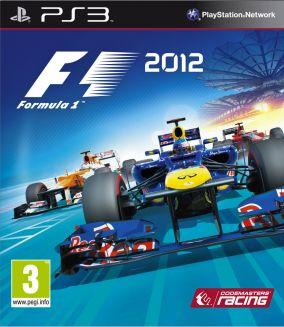 Copertina del gioco F1 2012 per Playstation 3