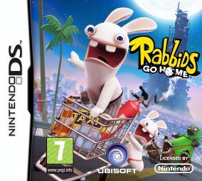 Copertina del gioco Rabbids Go Home per Nintendo DS