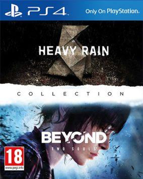 Copertina del gioco Heavy Rain & Beyond Two Souls Collection per Playstation 4