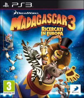 Copertina del gioco Madagascar 3: The Video Game per Playstation 3