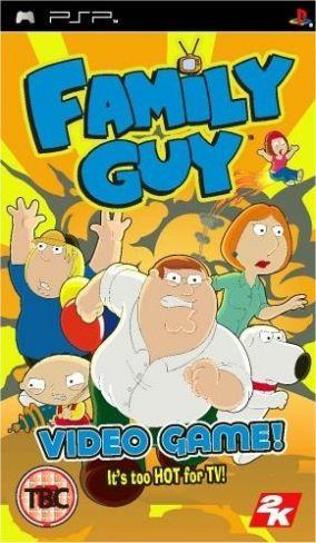 Copertina del gioco Family Guy per Playstation PSP