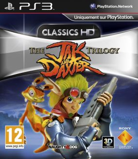 Copertina del gioco Jak and Daxter Collection per Playstation 3