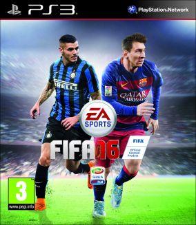 Copertina del gioco FIFA 16 per Playstation 3