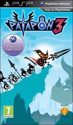 Copertina del gioco Patapon 3 per Playstation PSP