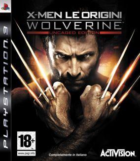 Copertina del gioco X-Men - Le Origini: Wolverine per Playstation 3