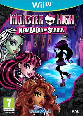 Copertina del gioco Monster High: Una nuova Mostramica a Scuola per Nintendo Wii U