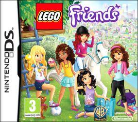 Copertina del gioco LEGO Friends per Nintendo DS