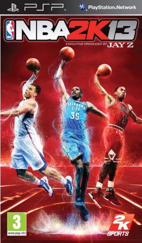 Copertina del gioco NBA 2K13 per Playstation PSP