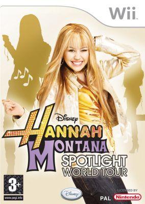 Copertina del gioco Hannah Montana: Il Tour Mondiale per Nintendo Wii