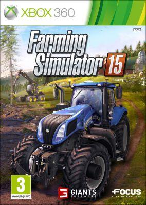 Copertina del gioco Farming Simulator 15 per Xbox 360