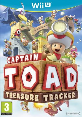 Copertina del gioco Captain Toad: Treasure Tracker per Nintendo Wii U