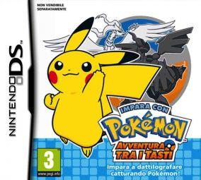 Copertina del gioco Impara con Pokemon: Avventura Tra I Tasti per Nintendo DS