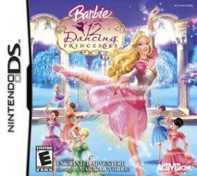 Copertina del gioco Barbie in Le 12 Principesse Danzanti per Nintendo DS