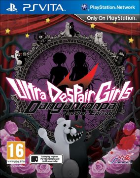 Copertina del gioco Danganronpa Another Episode: Ultra Despair Girls per PSVITA