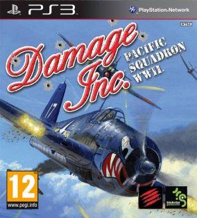 Copertina del gioco Damage Inc. Pacific Squadron WWII per Playstation 3