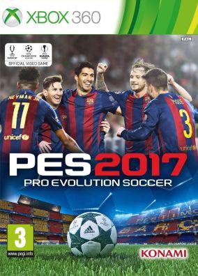 Copertina del gioco Pro Evolution Soccer 2017 per Xbox 360