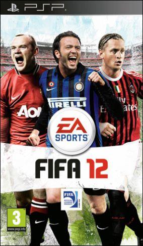 Copertina del gioco FIFA 12 per Playstation PSP