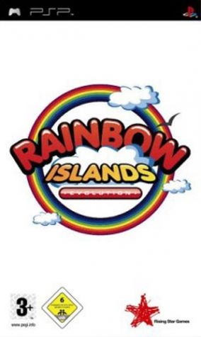 Copertina del gioco Rainbow Island evolution per Playstation PSP