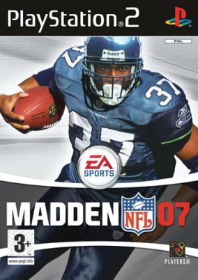 Copertina del gioco Madden NFL 07 per Playstation 2