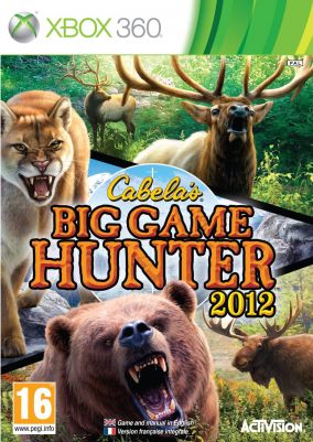 Copertina del gioco Cabela's Big Game Hunter 2012 per Xbox 360