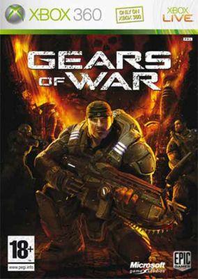 Copertina del gioco Gears of War per Xbox 360