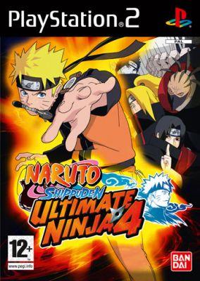 Copertina del gioco Naruto Shippuden : Ultimate Ninja 4 per Playstation 2