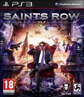 Copertina del gioco Saints Row IV per Playstation 3