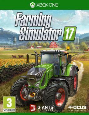 Immagine della copertina del gioco Farming Simulator 17 per Xbox One