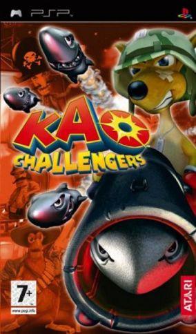Copertina del gioco Kao Challengers per Playstation PSP