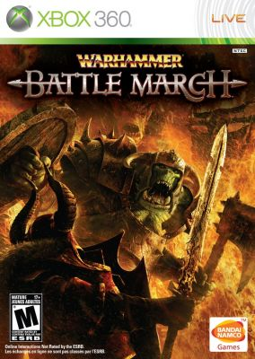 Copertina del gioco Warhammer: Battle March per Xbox 360
