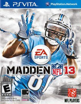 Copertina del gioco Madden NFL 13 per PSVITA