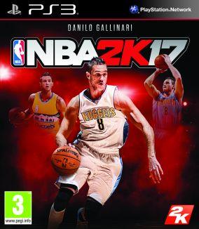 Copertina del gioco NBA 2K17 per Playstation 3