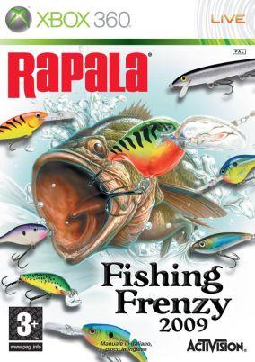 Copertina del gioco Rapala Fishing Frenzy per Xbox 360
