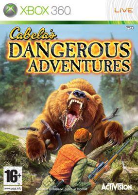 Copertina del gioco Cabela's Dangerous Adventures per Xbox 360