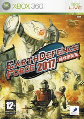 Copertina del gioco Earth Defence Force 2017 per Xbox 360
