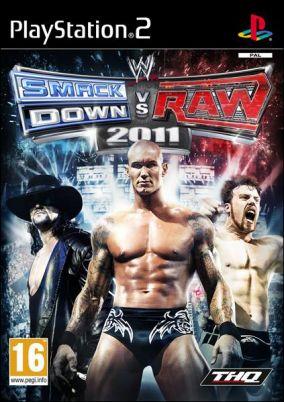 Copertina del gioco WWE Smackdown vs. RAW 2011 per Playstation 2