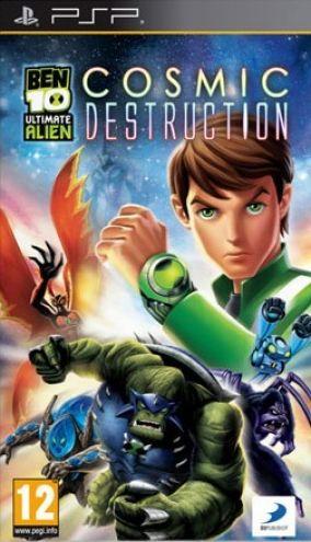 Copertina del gioco Ben 10: Ultimate Alien: Cosmic Destruction per Playstation PSP