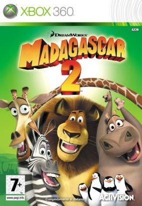 Copertina del gioco Madagascar: Escape 2 Africa per Xbox 360