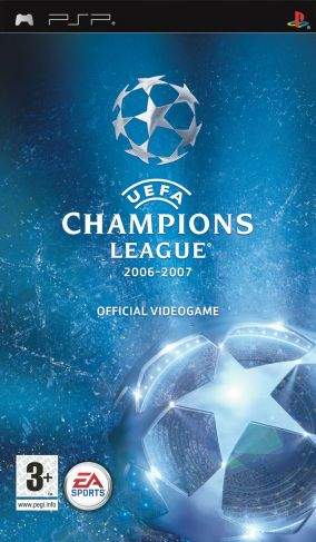Copertina del gioco UEFA Champions League 2006-2007 per Playstation PSP