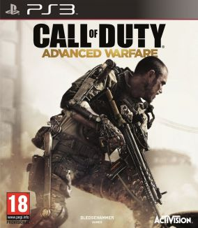 Copertina del gioco Call of Duty: Advanced Warfare per Playstation 3