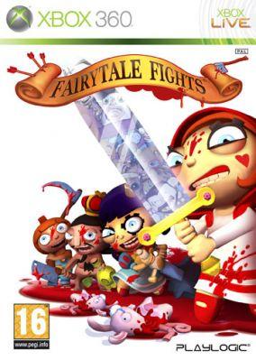 Copertina del gioco Fairytale Fights per Xbox 360