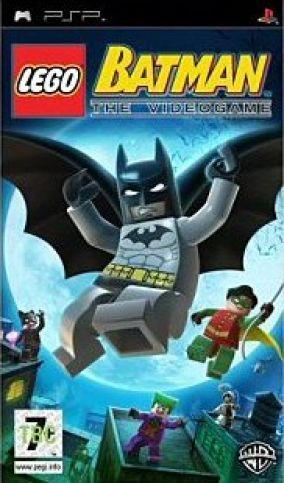 Immagine della copertina del gioco LEGO Batman: Il Videogioco per Playstation PSP