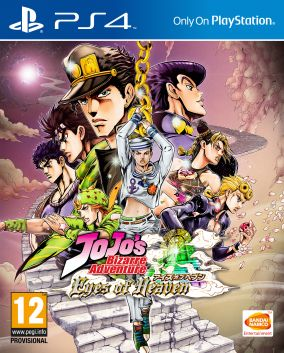 Copertina del gioco JoJo's Bizarre Adventure: Eyes of Heaven per Playstation 4