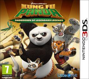 Copertina del gioco Kung Fu Panda: Scontro finale delle leggende leggendarie per Nintendo 3DS