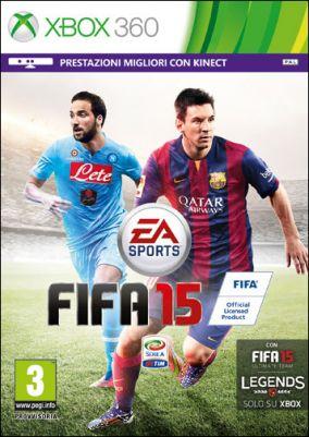 Copertina del gioco FIFA 15 per Xbox 360