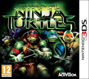 Copertina del gioco Teenage Mutant Ninja Turtles per Nintendo 3DS