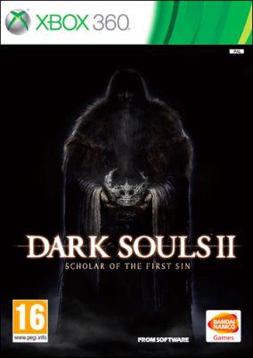 Copertina del gioco Dark Souls II: Scholar of the First Sin per Xbox 360