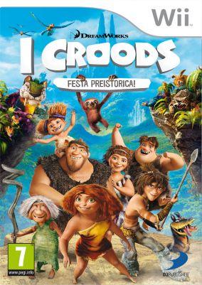 Copertina del gioco I Croods: Festa Preistorica per Nintendo Wii