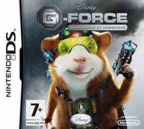 Copertina del gioco G-Force per Nintendo DS