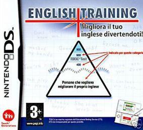 Copertina del gioco English Training: Migliora il tuo inglese divertendoti per Nintendo DS